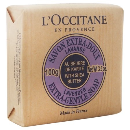 Lavender French Butter Soap - L'Occitane Shea Butter Extra Gentle Soap, Lavender, 3.5 Oz
