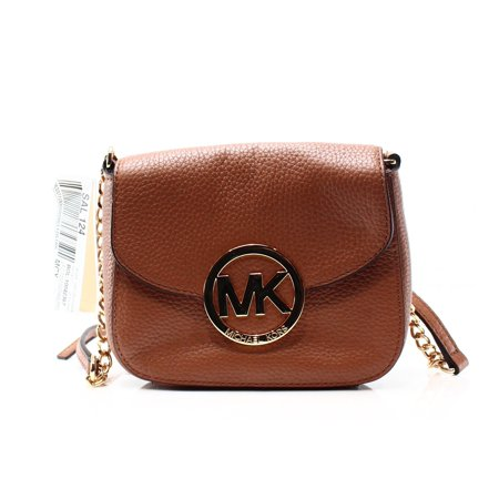 993f944b84a9f Michael Kors - Michael Kors NEW Brown Acorn Pebble Leather Fulton ...