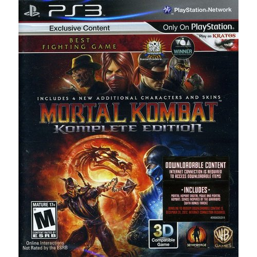 Mortal Kombat: Komplete Edition (PS3)