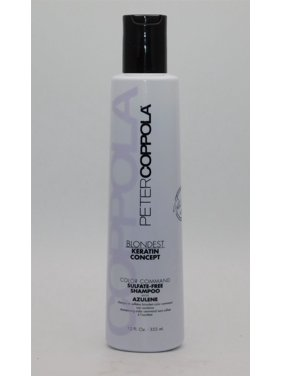 Peter Coppola Blondest Keratin Concept Color Command Shampoo12 Oz
