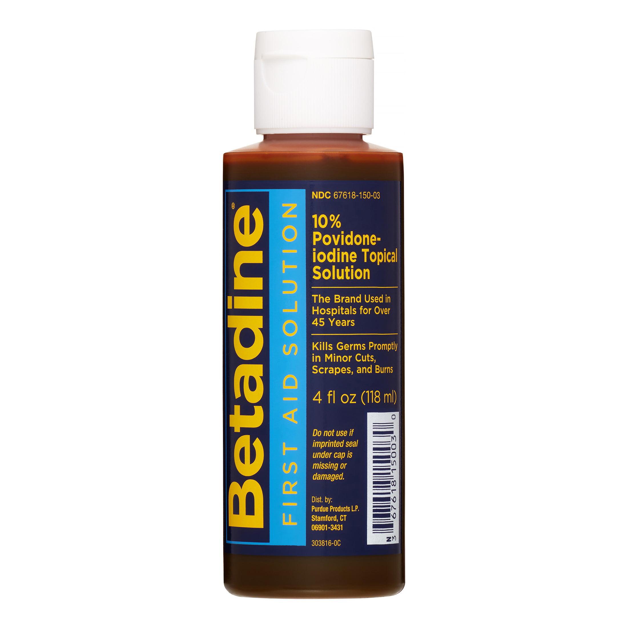 Betadine First Aid Solution, 4 Oz by Purdue Pharma