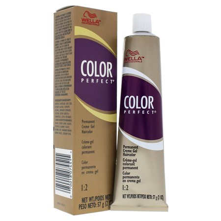 Color Perfect Permanent Creme Gel - B Blue Modifier by Wella for Unisex - 2 oz Hair Color](B Antonio Hair Supply)
