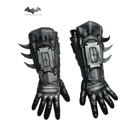 Adult Arkham Batman Deluxe Gloves - Arkham Batman Costume