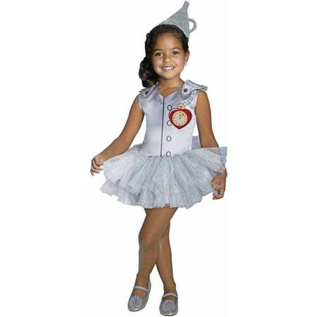 "Wizard of Oz ""Tin Man"" Tutu Girls' Child Halloween Costume"