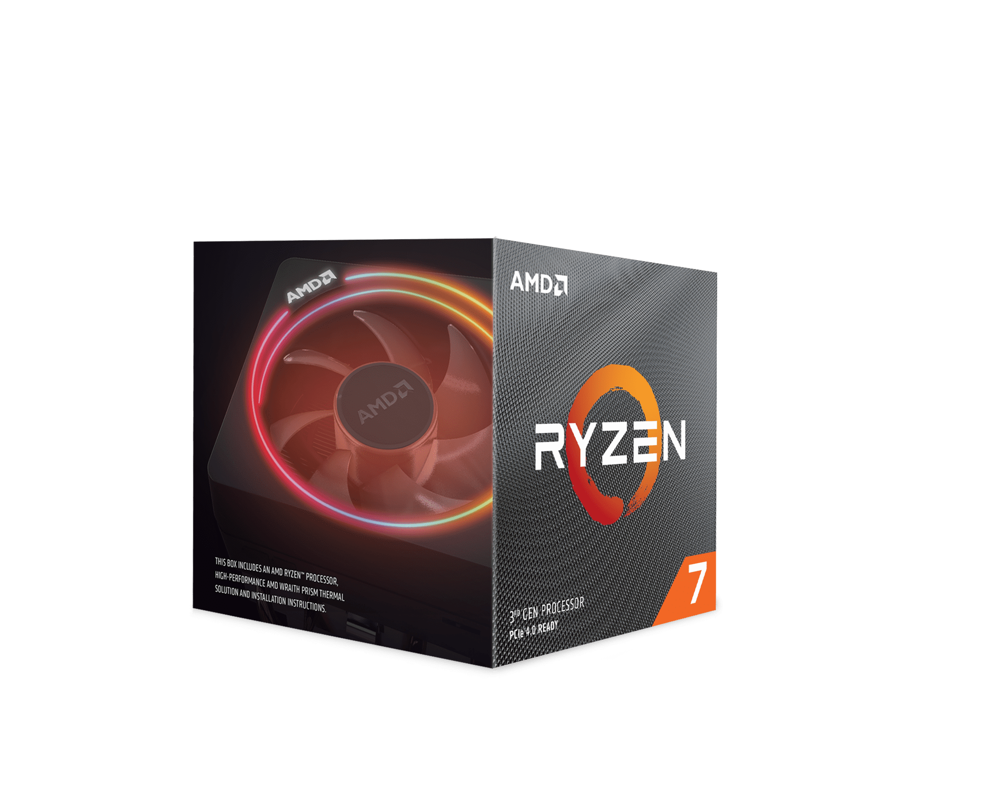 Amd Ryzen 7 3700x 8 Core 16 Thread 4 4 Ghz Am4 Processor Walmart Com Walmart Com