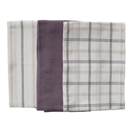 Rue Montmartre 3 Piece Els Cotton Kitchen Towel Set