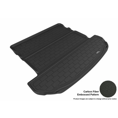 3D Maxpider 2016 2017 Kia Sorento All Weather Cargo Liner In Black With Carbon Fiber Look
