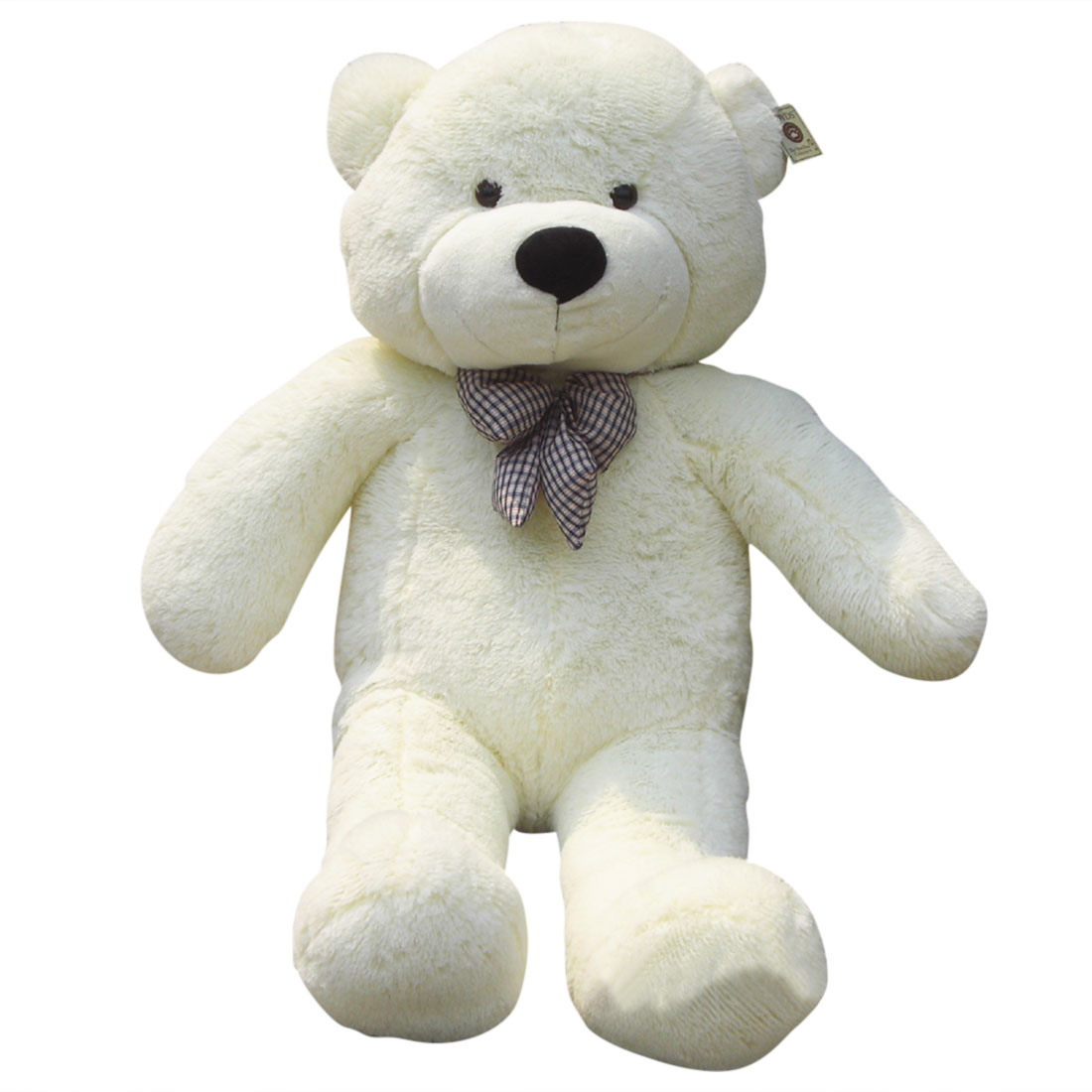 1.2M Giant Cuddly Stuffed Animals Plush Teddy Bear Toy Doll White by