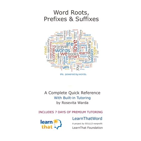 Word Roots, Prefixes & Suffixes - eBook (List Of Medical Prefixes Suffixes And Root Words)