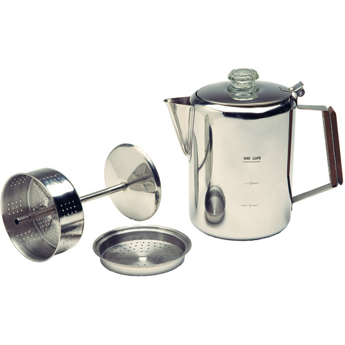 Texsport 9-Cup Stainless Percolator