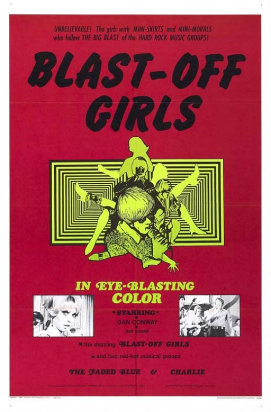 Blast-Off Girls Movie Poster (11 x 17) by Pop Culture Graphics