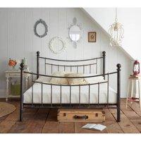 Premier Abbey Queen Metal Platform Bed with Bonus Support