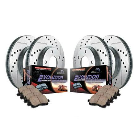 Power Stop K700 Z23 Evolution Sport Upgrade Brake Kit -Front & Rear