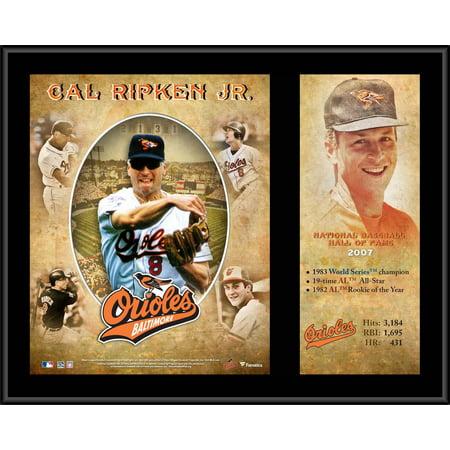 Ripken Jr Hall Of Fame - Cal Ripken Baltimore Orioles 12