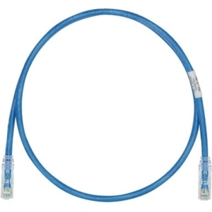 Panduit Cat.6 UTP Patch Network Cable 5 ft Blue