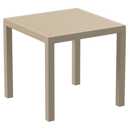 - Compamia Ares Resin Square Patio Dining Table