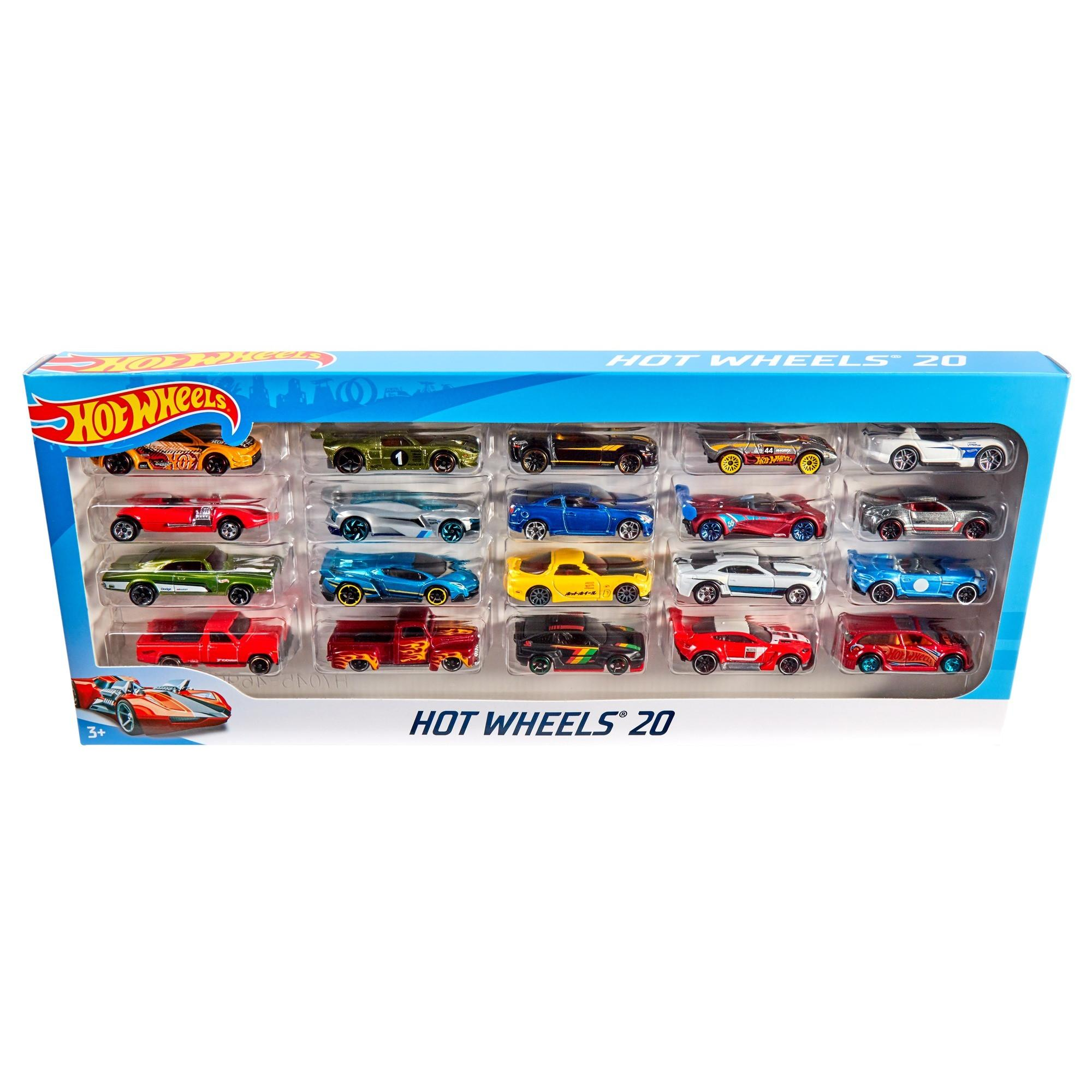 883945f4a8a Hot Wheels 20-Car Collector Gift Pack (Styles May Vary) - Walmart.com