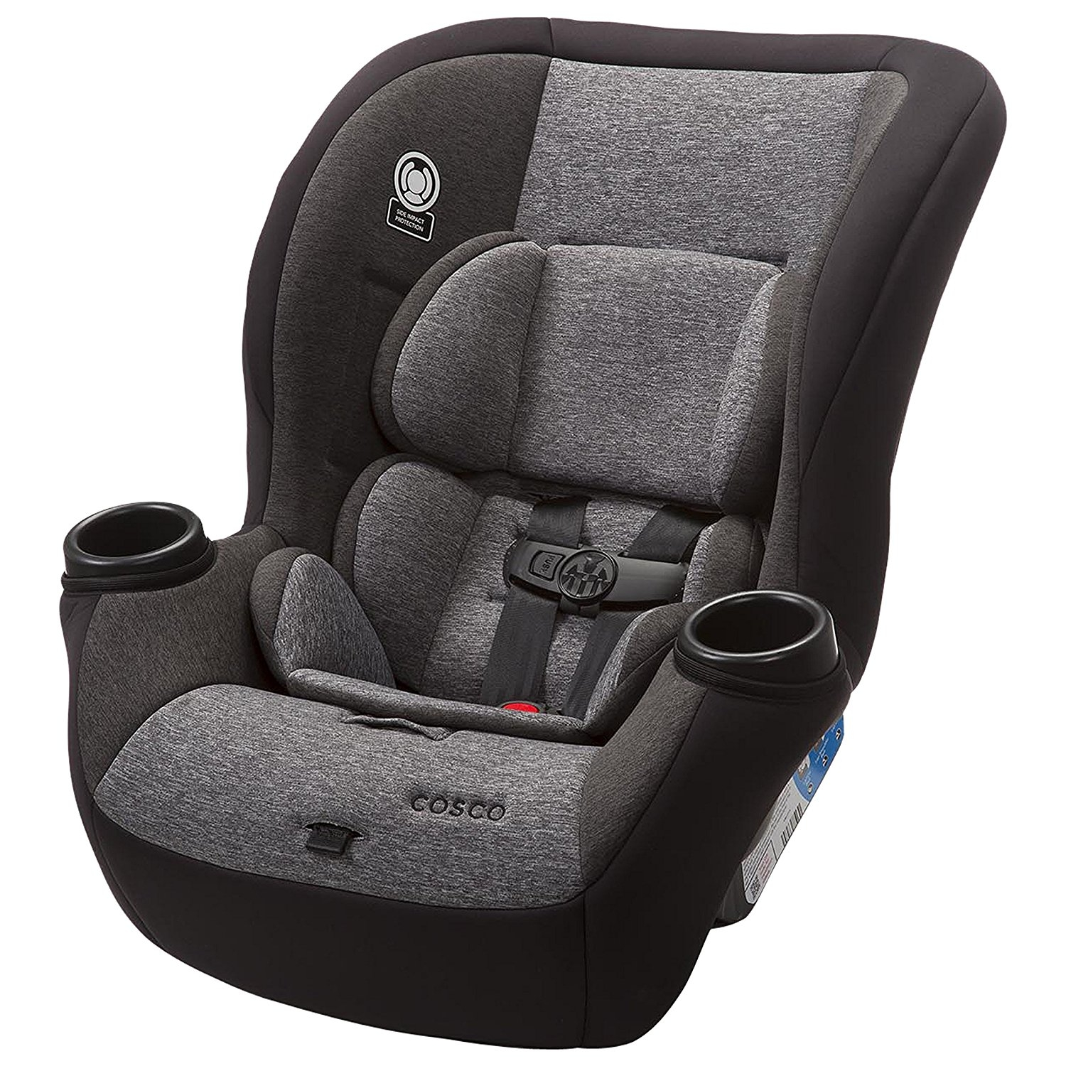 Cosco Comfy Convertible Car Seat, Heather Granite
