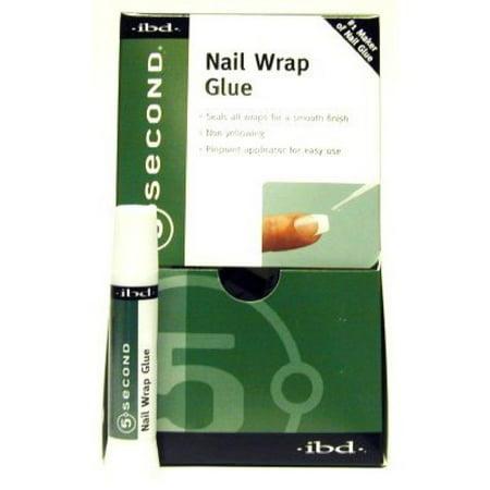 - 6 Pack - Ibd 5 Second  Nail Wrap Glue 1 ea