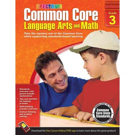 Common Core Math And Language Arts  Grade 3