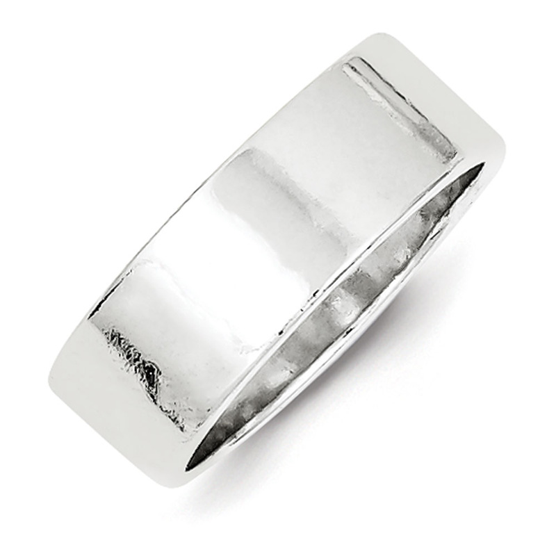 FB Jewels Solid Stainless Steel Polished Cuff Links