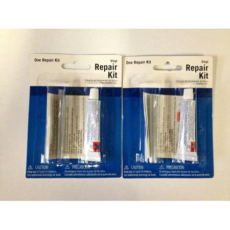 Patch Kit Repair Wet Set Vinyl 2 Intex Plastic Puncture Hole Float Swim 59633W (Parade Float Kits)