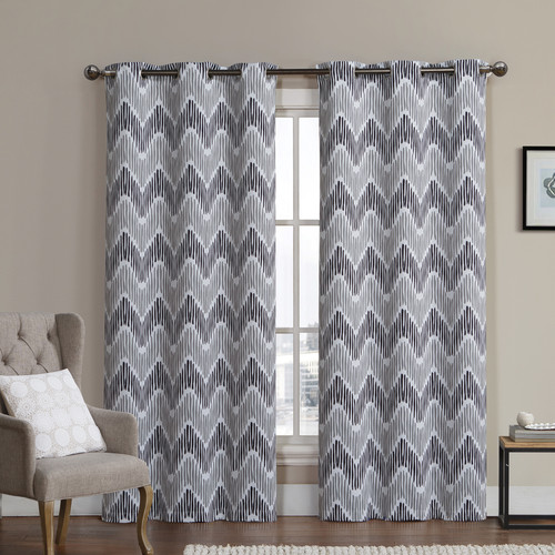 Luxury Home Marlie Thermal Blackout Curtain Panels (Set of 2)