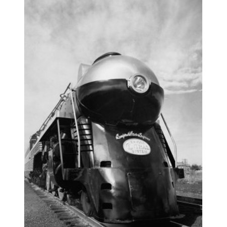 Close-up of a steam train engine Hudson Locomotive New York Central System Stretched Canvas -  (18 x 24)