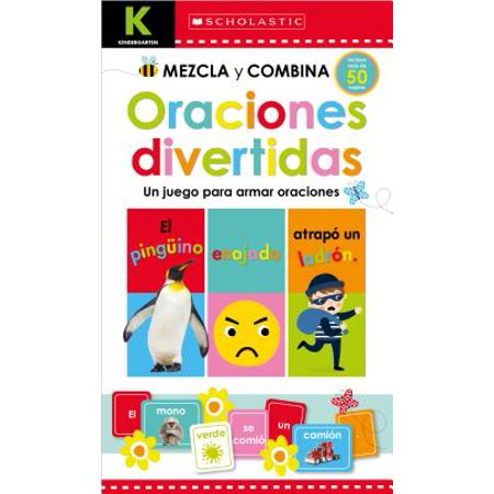 Scholastic Early Learners: Kindergarten Mezcla Y Combina: Oraciones Divertidas (Kindergarten Mix & Match Silly Sentences)](Bromas Divertidas Halloween)