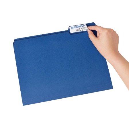 Avery Extra Large Trueblock Filing Labels   0 94   Width X 3 44   Length   450   Pack   Rectangle   18 Sheet   Laser  Inkjet   White  8425
