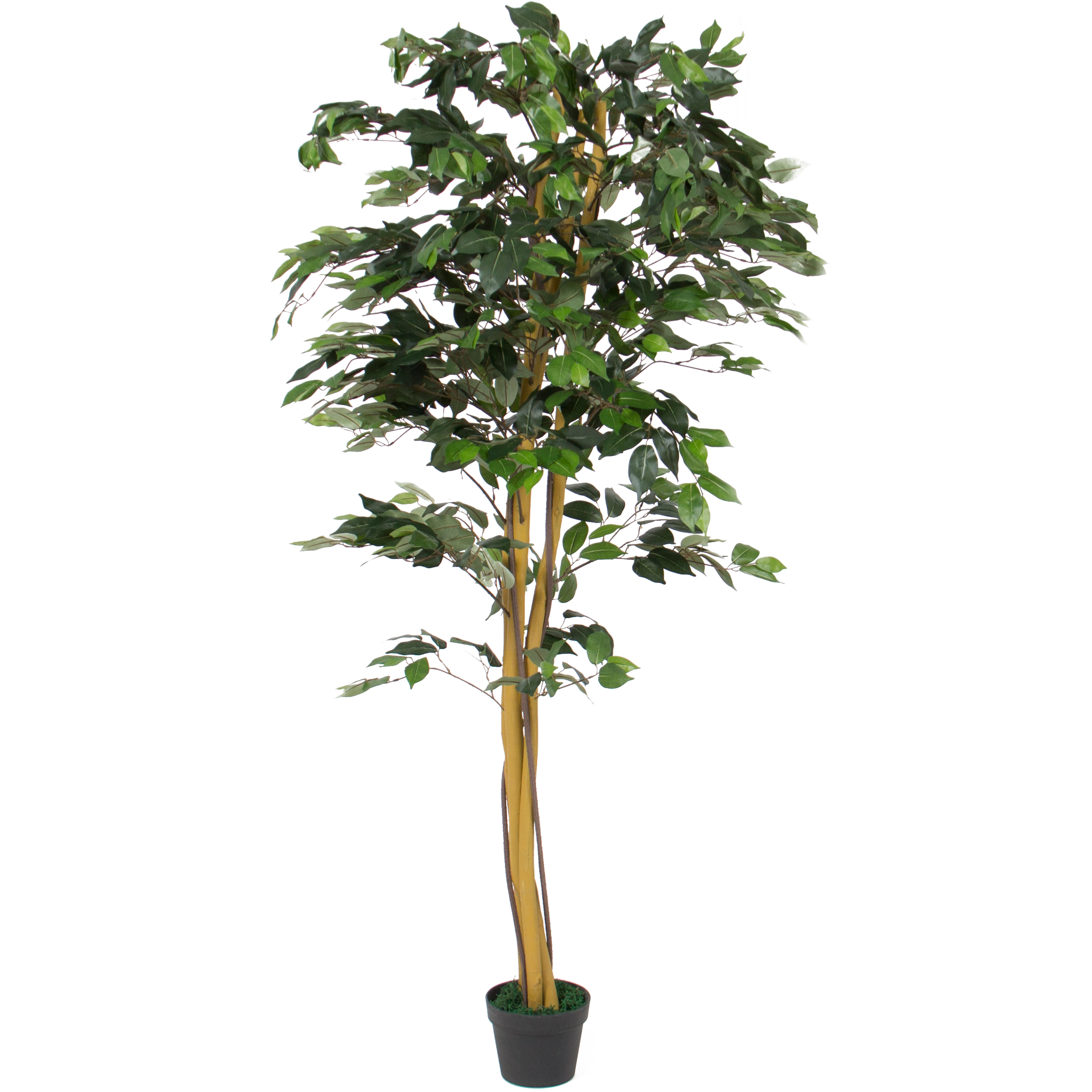 Best Choice Products 6 FT Decorative Artificial Tree Ficus Plant