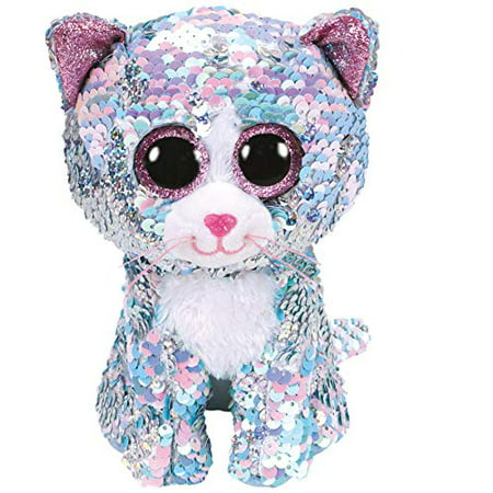 Ty - Beanie Boos - Flippables Whimsy Blue Cat 6