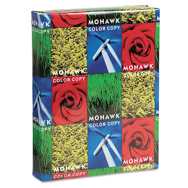 Mohawk Copy Paper, 98 Brightness, 28lb, 8-1/2 x 11, Bright White, 500 Sheets -MOW12203