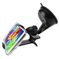 Easy Mount Car Holder Windshield Dash Cradle M7V for Essential Phone (PH-1) - Google Pixel XL 3a XL 3 XL 2 XL - HTC Bolt, U11, 10, U12 Plus, Life, One M9 A9, Desire EYE 626s 626 612 610 555