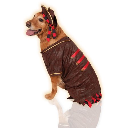 Big Dogs Pirate Boy Swashbuckler Jack Sparrow Dog Pet Costume Size XXL - Buy Dog Costumes