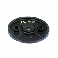 York Barbell Uncalibrated Olympic Plate in kilograms - 1 kg