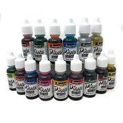 Jacquard Pinata Color Alcohol Inks 15 Color Bundle, 8x Pixiss Ink Blending Tools
