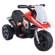 Costway 6V Kids Ride On Motorcycle Battery Powered 3 Wheel Bicyle Electric Toy by Costway