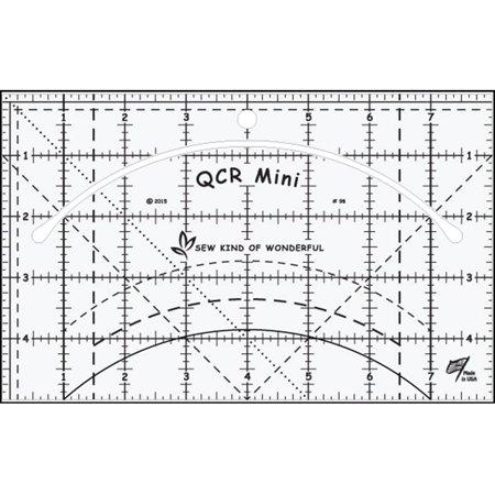 Skw98 Qcr Ruler Mini Qcr Mini Ruler  Sew Kind Of Wonderful Ruler Quick Curve Mini By Sew Kind Of Wonderful Ship From Us