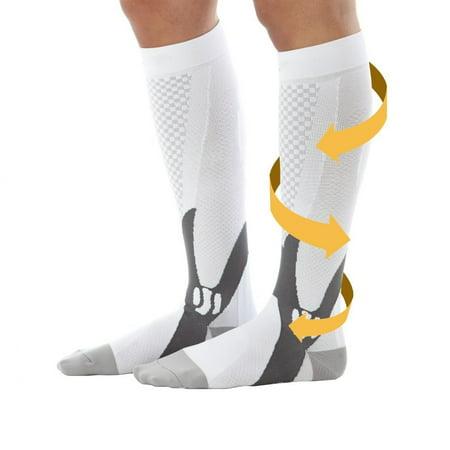 Unisex Athelete's Support Compression Stockings Socks ( 5Pair) - Graduation Socks