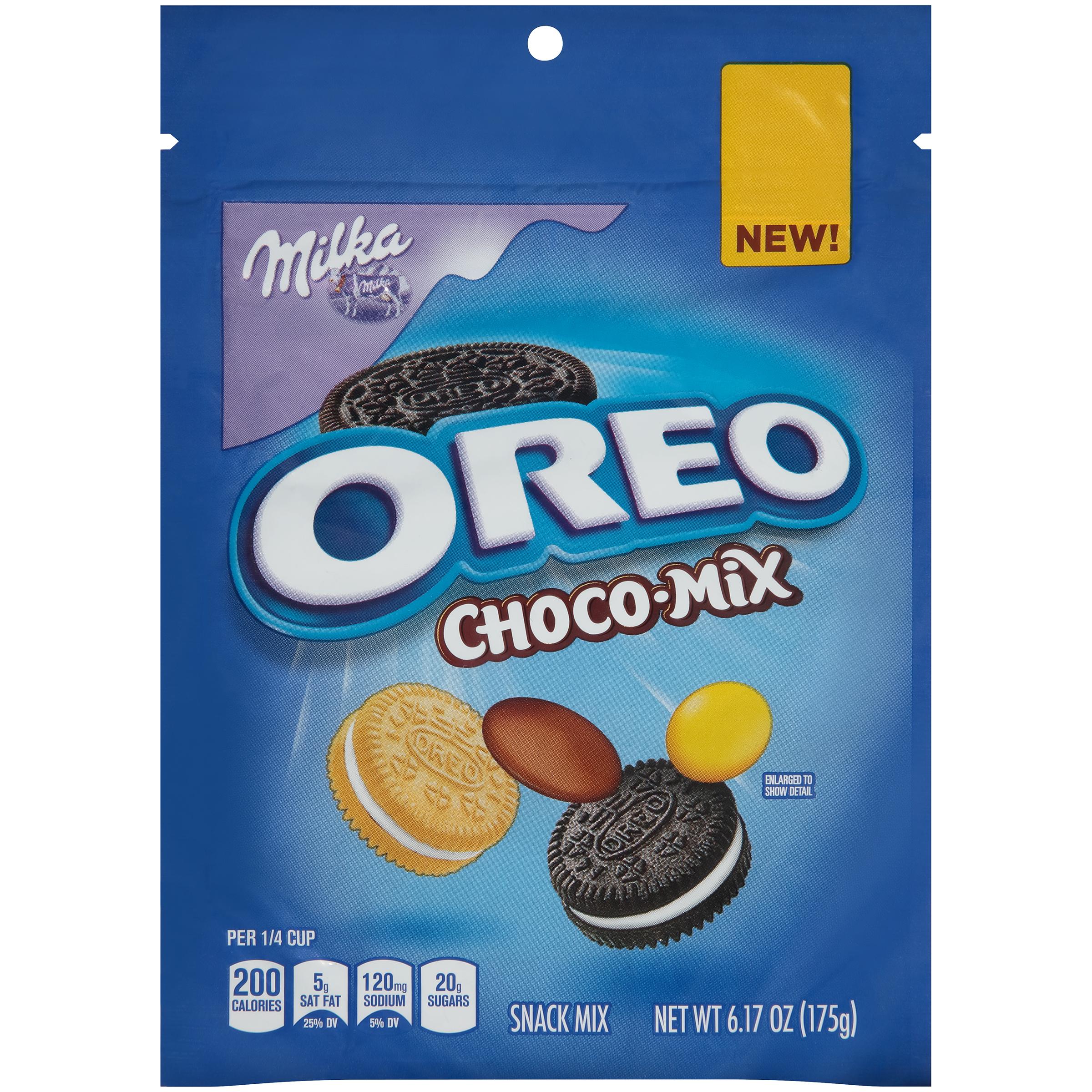 Milka Oreo Choco-Mix Snack Mix Bag, 6.17 oz