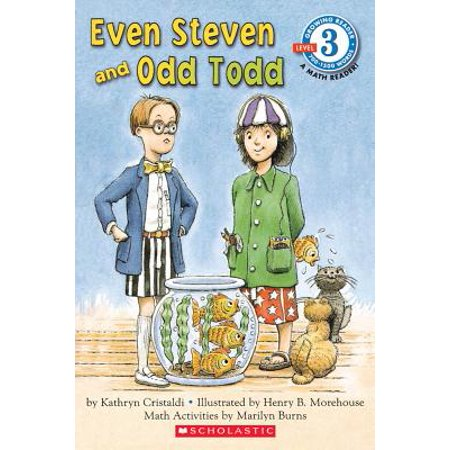 Scholastic Reader Level 3: Even Steven and Odd Todd