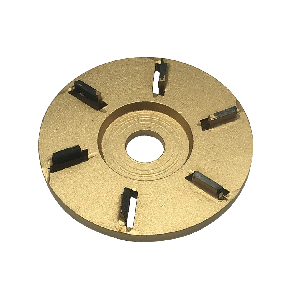 Flat Woodworking Milling Cutter Angle Grinder Tea Tray Wood Turbo Carving Disc