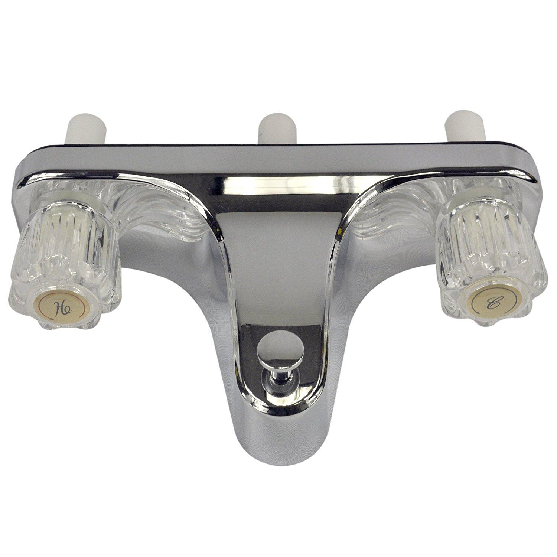Mobile Home Rv Tub Shower Faucet 2 Valve Diverter Chrome 8 On