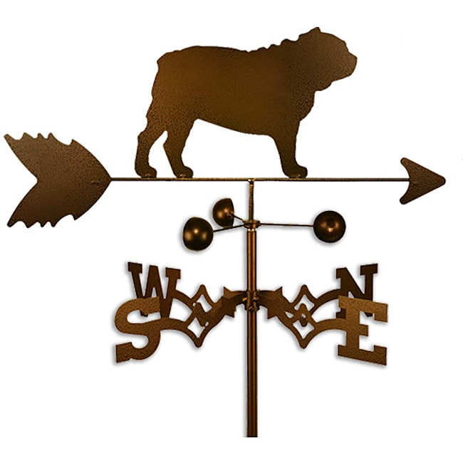 SWEN Products Inc Handmade Bulldog Copper Weathervane by Overstock