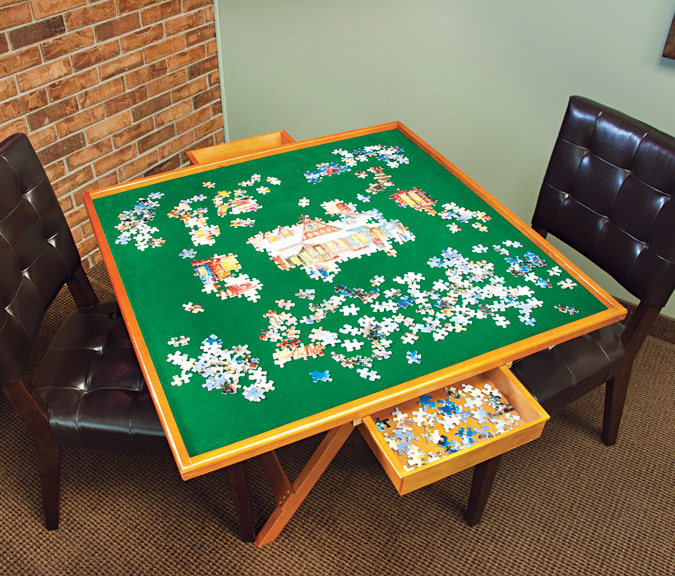 Mary Maxim Puzzle Table by