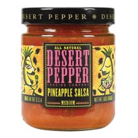 Desert Pepper Trading Medium Pineapple Salsa - Pack of 6 - 16 Oz.