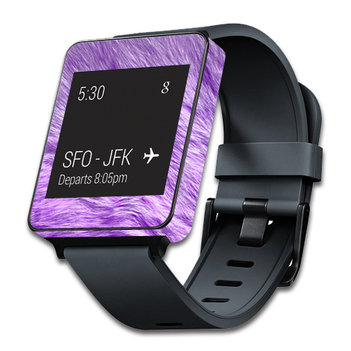 MightySkins Protective Vinyl Skin Decal for LG G Smart Watch W100 cover wrap sticker skins Furry