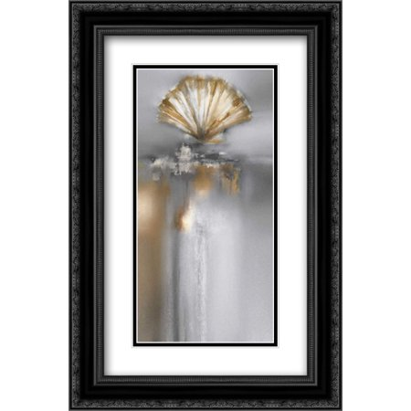 Silver and Gold Treasures I 2x Matted 16x24 Black Ornate Framed Art Print by Prior, J.P. - Not All Treasure Is Silver And Gold