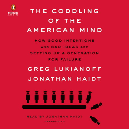The Coddling of the American Mind : How Good Intentions and Bad Ideas Are Setting Up a Generation for Failure - Place Settings Ideas